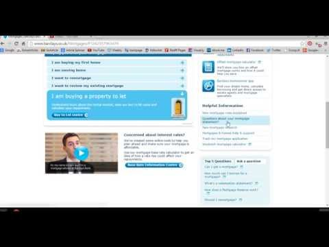 Apply Online Mortgage Loan UK