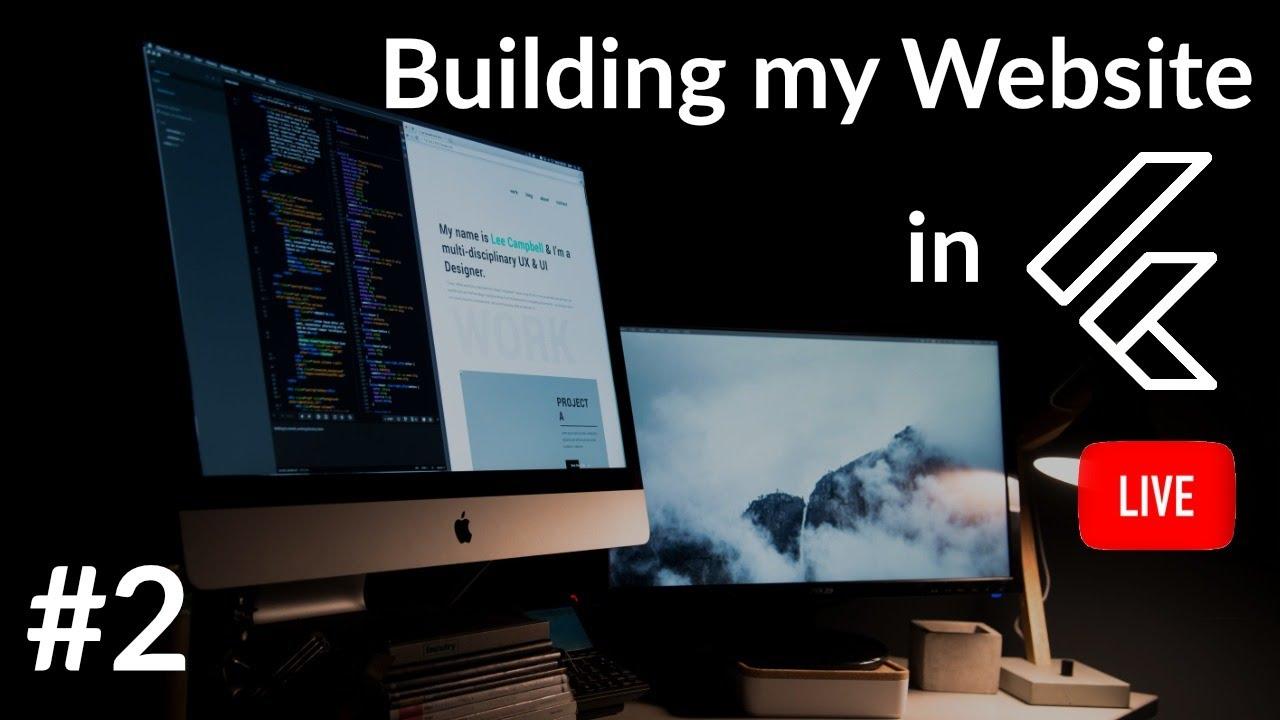 Building Website in Flutter #2