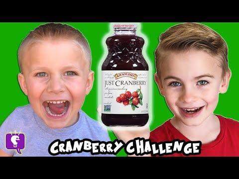 Cranberry Juice Challenge with HobbyFamily