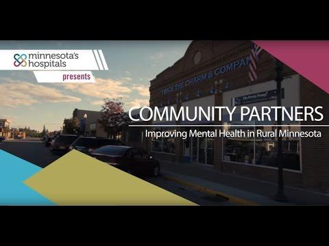 Community Partners: Improving Mental Health in Rural Minnesota