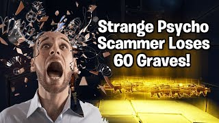 Strange Psycho Scammer Loses 60 Grave Diggers! (Scammer Gets Scammed) Fortnite Save The World