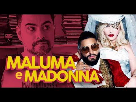 Madonna 2019 - Previsões de Músicas Maluma e Eurovision  MadameX