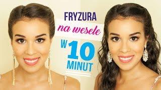 FRYZURA NA WESELE W 10 MINUT | MACADEMIAN GIRL