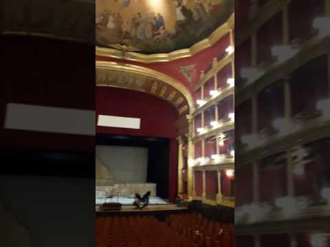 Inside the Guadalajara Mexico Theatre. #expat
