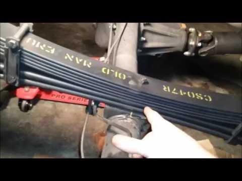 old man emu dakar leaf installation on a 2013 tacoma youtube. Black Bedroom Furniture Sets. Home Design Ideas