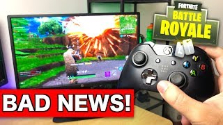 BAD NEWS for Fortnite on Xbox One!