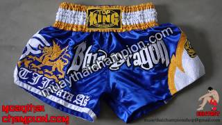 Custom Muay Thai Shorts from Thailand by Twins Special, Top King, King Professional, Raja Boxing
