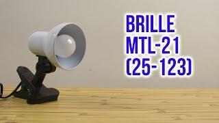 Розпакування Brille MTL-21 (25-123)