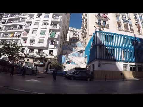 Algeria Algiers City Center, Gopro / Algérie Alger Centre ville, Gopro