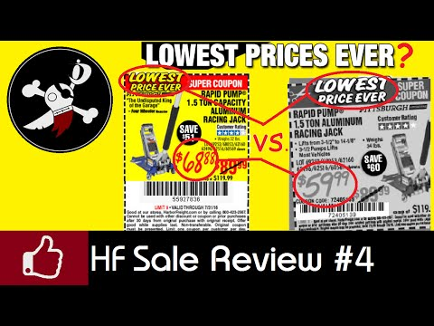 Harbor Freight Coupon & Sale Review #4 BUSTED!