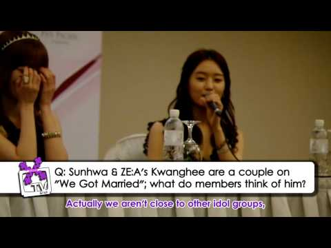 (X)TV!: SECRET Live in Singapore Press Conference + Message to Singapore fans!