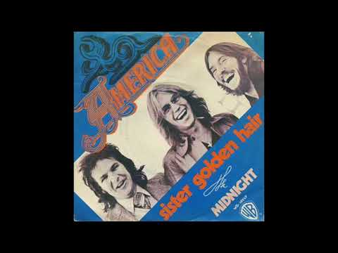 America - Sister Golden Hair (Warner Bros  Records 1975)