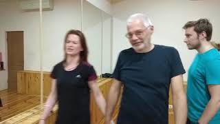 Школа аргентинского танго La Aventura — первый урок