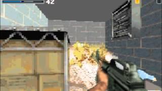Ecks vs Sever GBA Gameplay