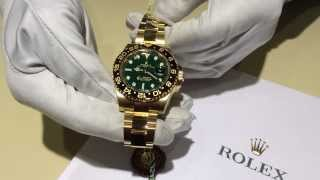 ROLEX GMT MASTER 2 GOLD HD