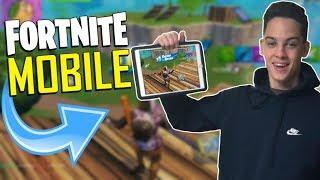 FAST MOBILE BUILDER on iOS / 715+ Wins / Fortnite Mobile + Tips & Tricks!