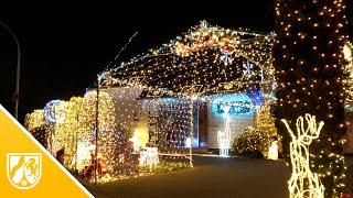 Ho, ho, ho - das Weihnachtshaus in Hoisten leuchtet wieder