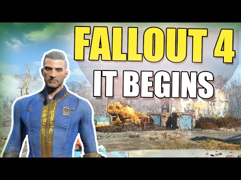 Fallout 4: 200 Years Stolen - Hollow's Blind Playthrough [EP 1]