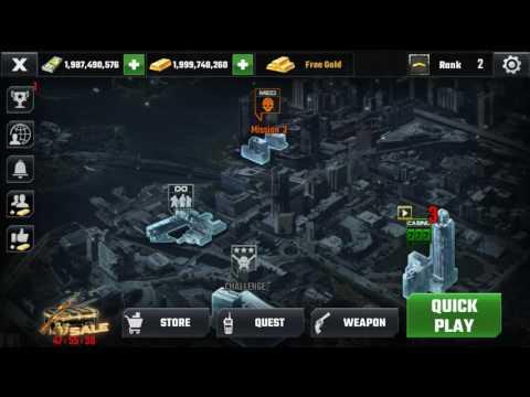 dead target: zombie / mod apk / gold & cash.