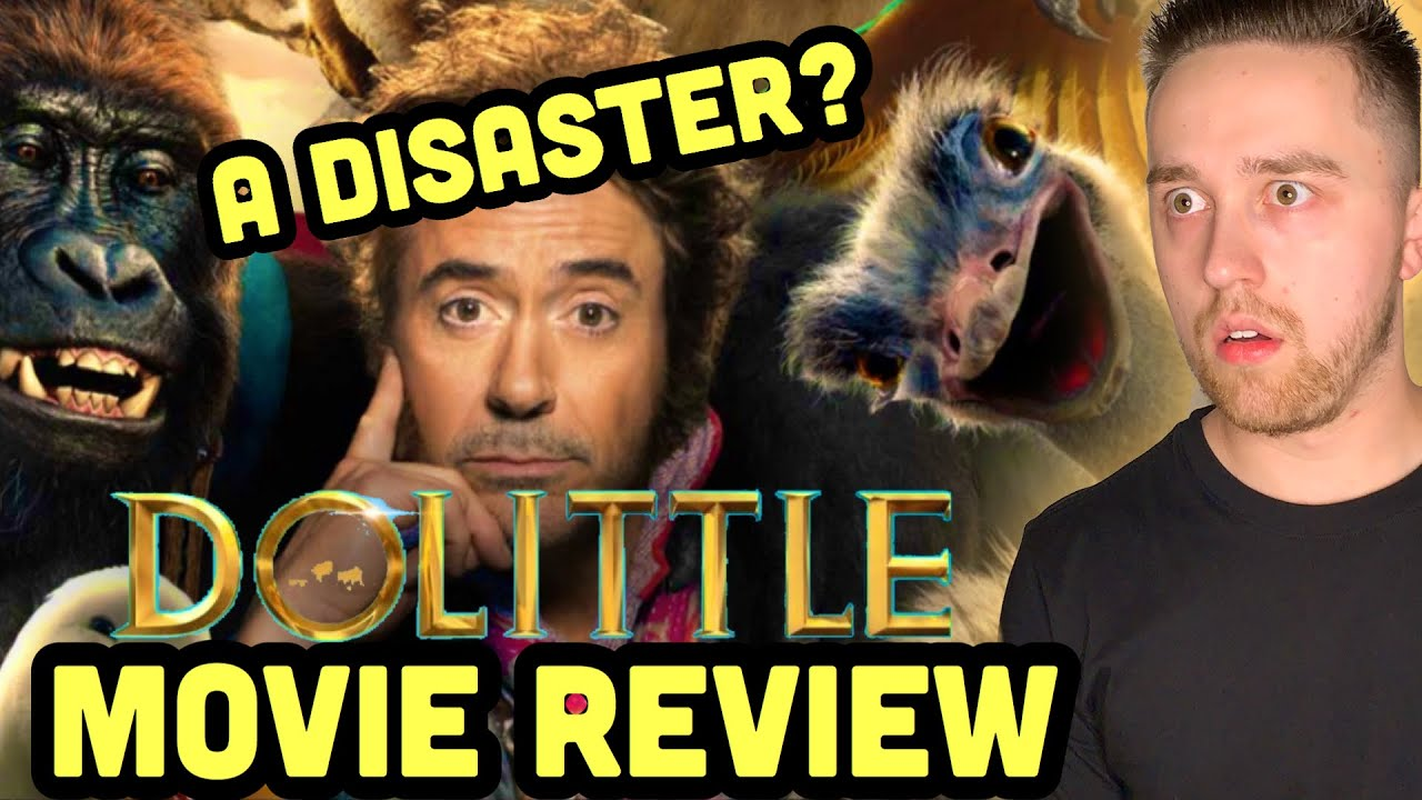 Review: 'Dolittle,' with Robert Downey Jr., is a disaster