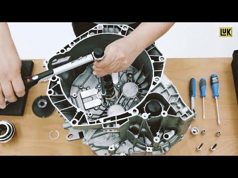 luk repset 2ct d montage et montage d 39 un double embrayage sec pour transmission renault dc4. Black Bedroom Furniture Sets. Home Design Ideas