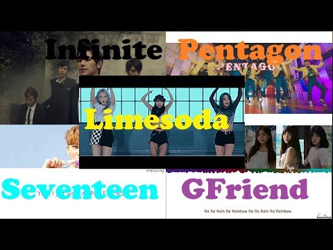 Infinite-Paradise,PTG-Critical Beauty,GFriend-Rainbow,SVT-Simple,Limesoda-Wave[Kpop Reaction - E69]