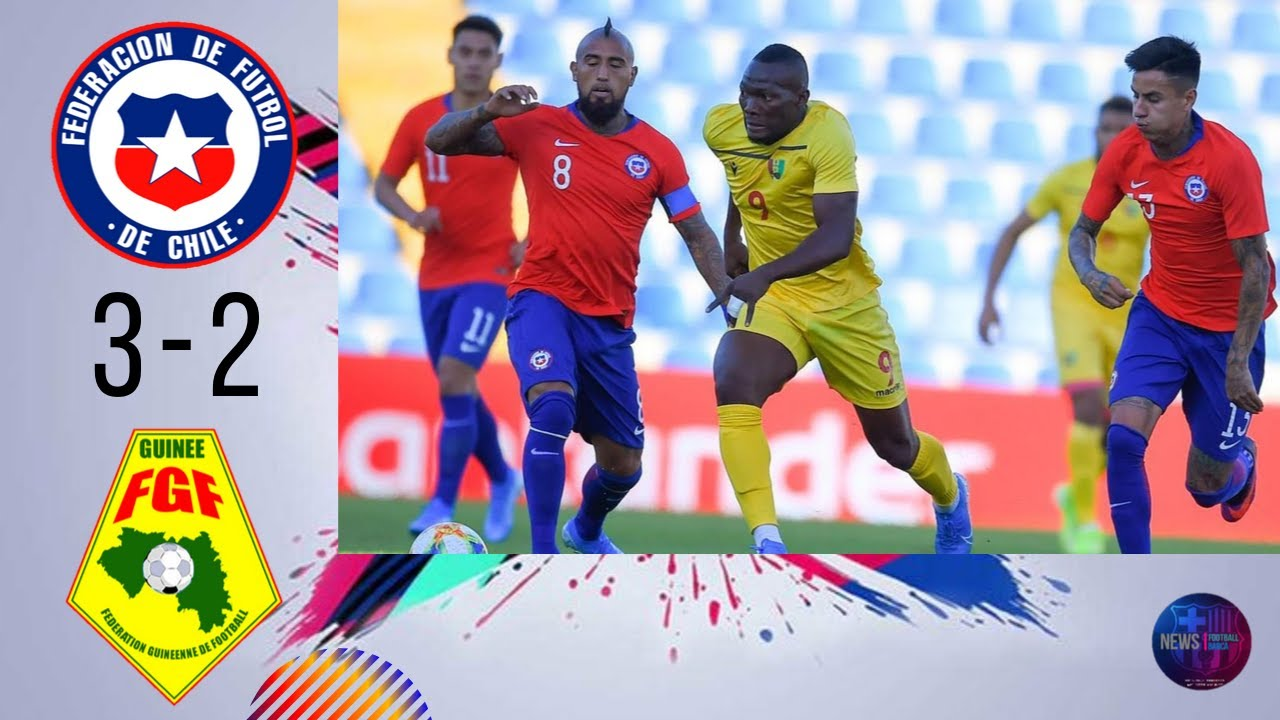 Download Chile vs Guinea 3−2 ⚽😠😁  All Goals & Extended Highlights - 2019