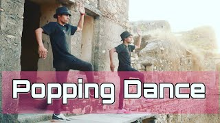 Popping Dance Choreography | I can make ya | finzaag | Vs Ranawat and MD Choreography