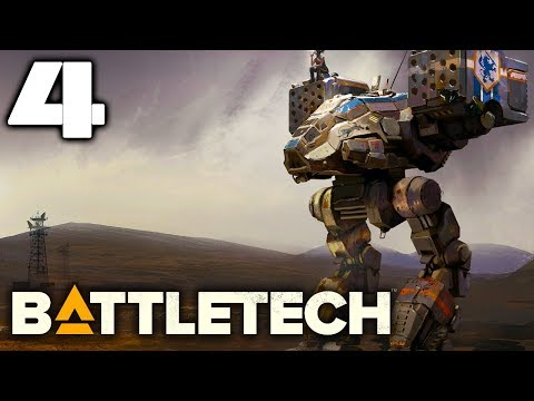 SOMEONE IS SPYING ON US | Battletech Let's Play Gameplay #4