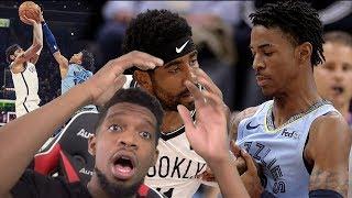 JA MORANT BLOCKS KYRIE GAME WINNER! Brooklyn Nets vs Memphis Grizzlies - Full Game Highlights