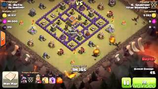 Clash of Clans: 3Star Warlords War Highlights