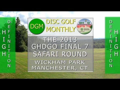DGM 116 The Final Seven Safari Round at the 2013 GHDGO