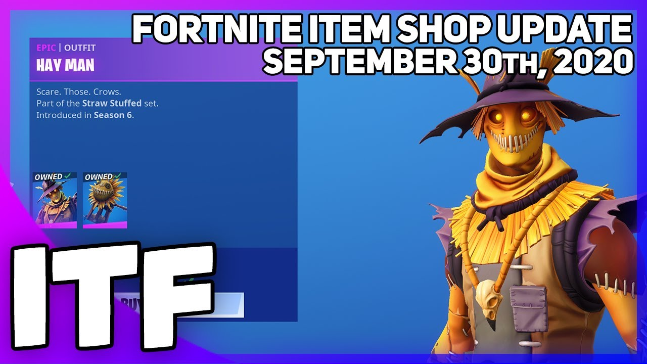 When Is The Fortnite Halloween Update 2020 Fortnite Item Shop HALLOWEEN SKINS ARE COMING! [September 30th
