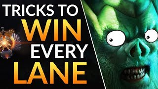 How to NEVER LOSE LANE: Pro Laning Tips to CS and WIN MORE - Necrophos Gameplay | Dota 2 Guide