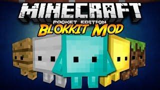 Minecraft PE 0.14.X/0.15.X | Blokkit Mod (Español) (Descarga) / Minecraft PE Mods