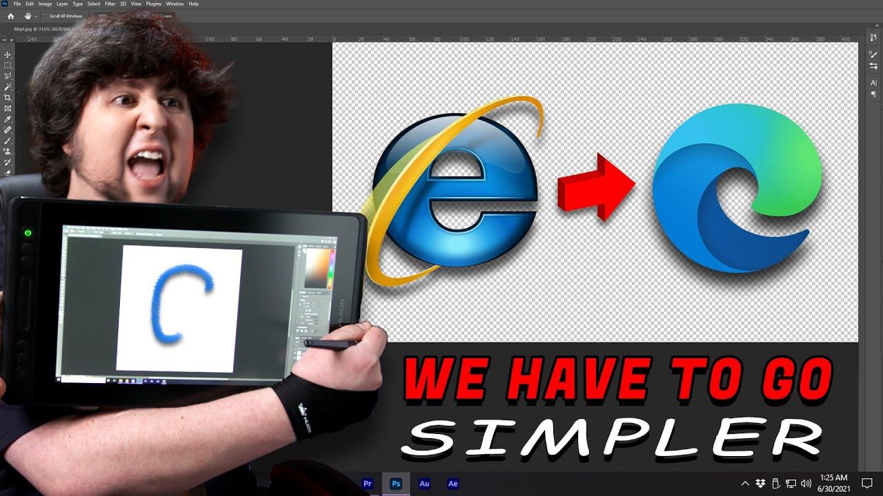 Download Simplifying Corporate Logos - JonTron