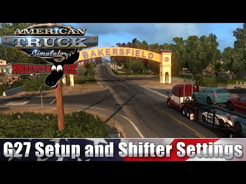 How to setup Logitech G27 with Euro Truck Simulator 2 (Works