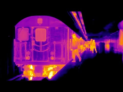 NYC Subway System in FLIR Thermal Infrared