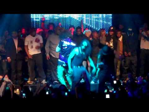 LMFAO ft. LIL JON - SHOTS performed LIVE at Playhouse Hollywood