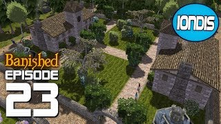 Banished: How To Decorate A College! ~ Colonial Charter, & Mega Mod