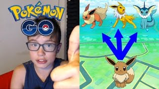 POKEMON GO EEVEE EVOLVE EASTER EGG | Pokemon GO (Nederlands)