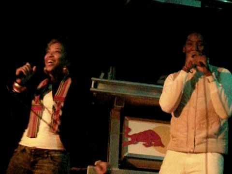 DASH & KENNETH SINGING LAST NIGHT- KARAOKE