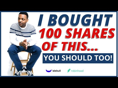 I BOUGHT 100 SHARES OF THIS. YOU SHOULD TOO ??? | Stock Lingo: TAX WRITE-OFF