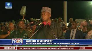 Saraki Commissions Road Projects In Rivers State