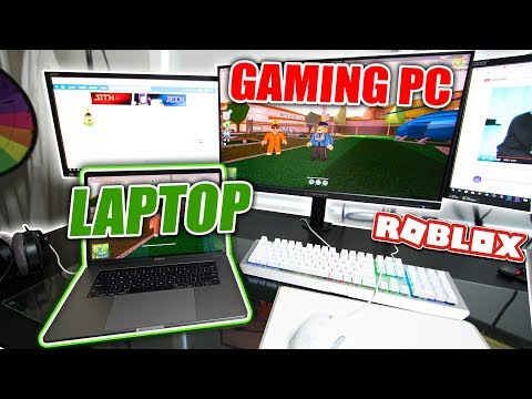Playing Jailbreak on $7,000 GAMING PC vs...