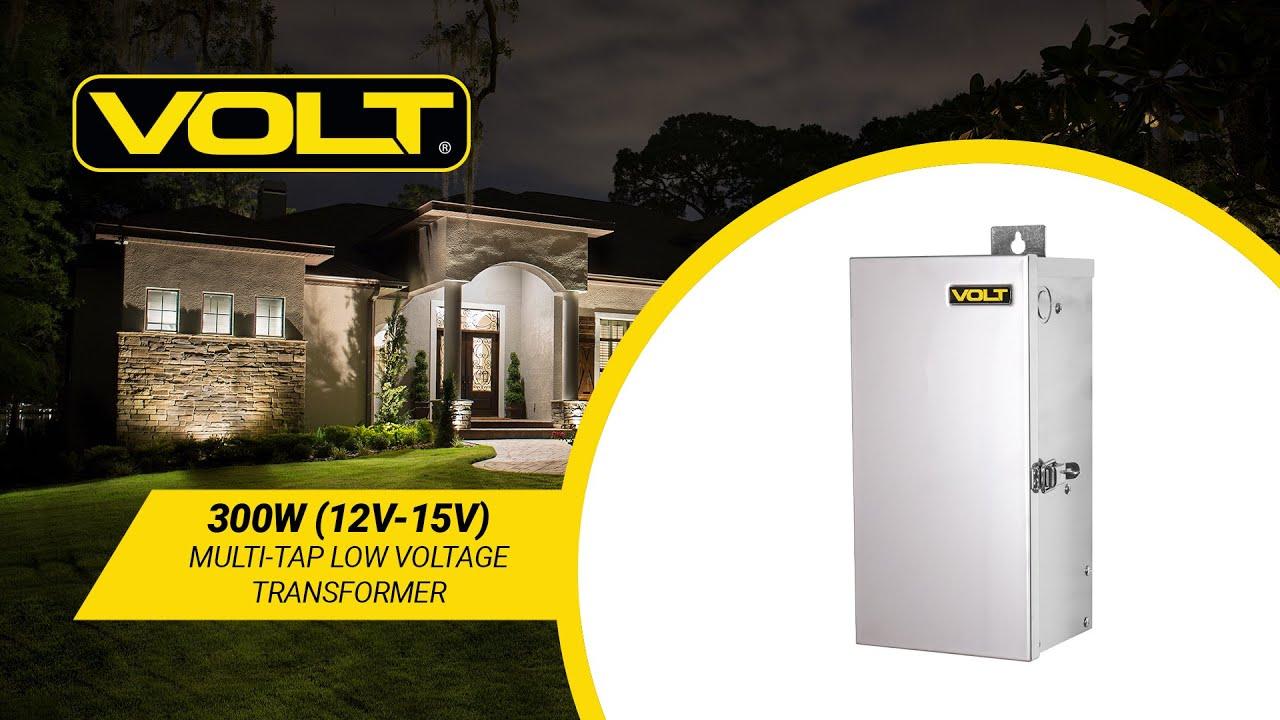 VOLT® 300W 12-15V Multi-Tap Transformer   Low Voltage Transformer