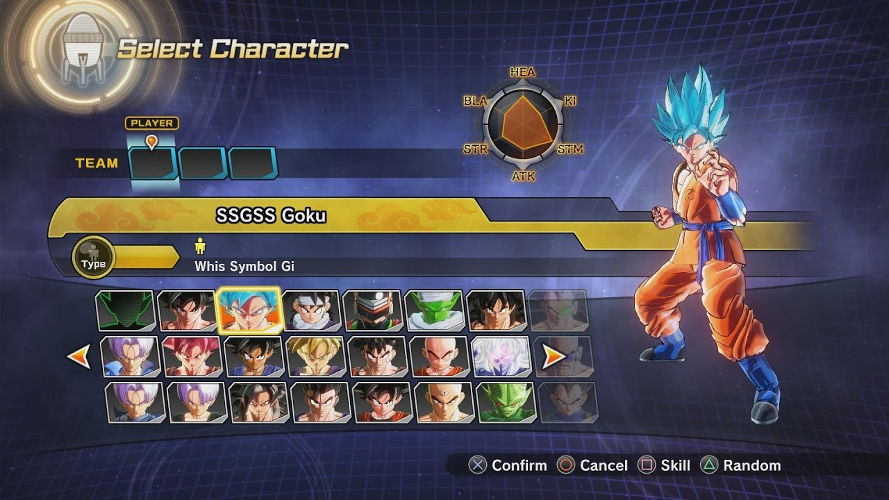 Dragon Ball Xenoverse 2 All Characters Costumes Skills