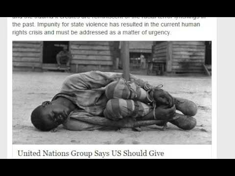 United Nations Suggests Reparations For African-Americans