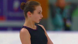 Камила Султанмагомедова Произвольная программа Женщины Кубок России по фигурному катанию 2020 21