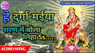 हे दुर्गा मैया शरण में बोला लिहा he Durga Maiya Sharan Mein bula liya